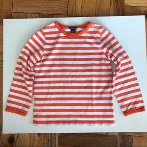 Marimekko PITKAHIHA Stripe Long Sleeve Tee Shirt